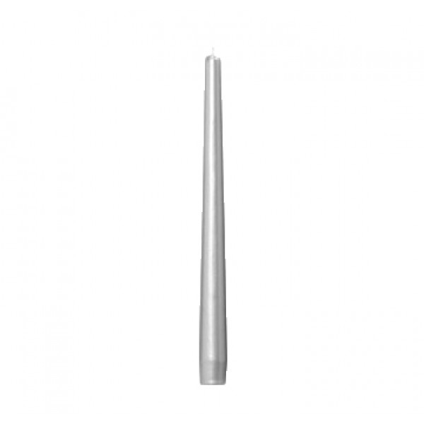 10 (+- 7h) Taper Grey Candles