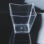 Crystal Square Mini Cup, 60 ml - package of 24 cups